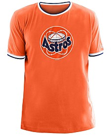 New Era Men's Houston Astros Ringer Crew Top