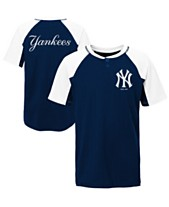 a709483ff9b69 Outerstuff Little Boys New York Yankees At The Plate Henley Top