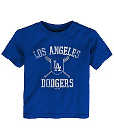 Outerstuff Toddlers Los Angeles Dodgers Crossed Bats T-Shirt