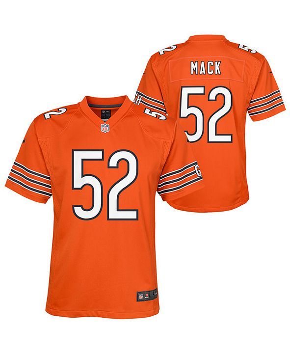 Nike Big Boys Khalil Mack Chicago Bears Game Jersey