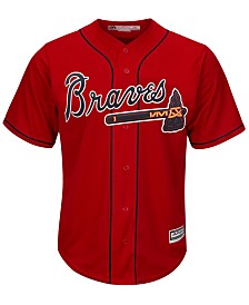 Majestic Men's Atlanta Braves Blank Replica Cool Base Jersey