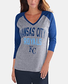 Women's Kansas City Royals It's a Game Raglan T-Shirt