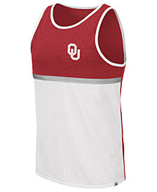 Colosseum Men's Oklahoma Sooners Color Blocked Tank