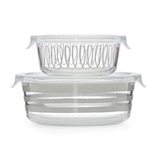 Charlotte Street Round Food Storage, Set of 2