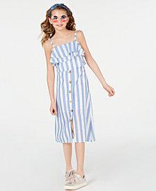 Rare Editions Big Girls 2-Pc. Striped Dress