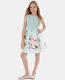 BCX Big Girls Floral-Print Dress