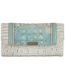 Brahmin Serendipity Schulz Checkbook Leather Wallet