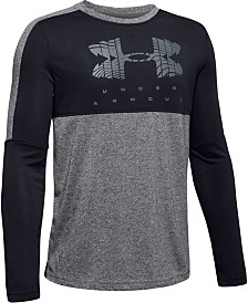 Under Armour Big Boys Logo-Print Colorblocked T-Shirt