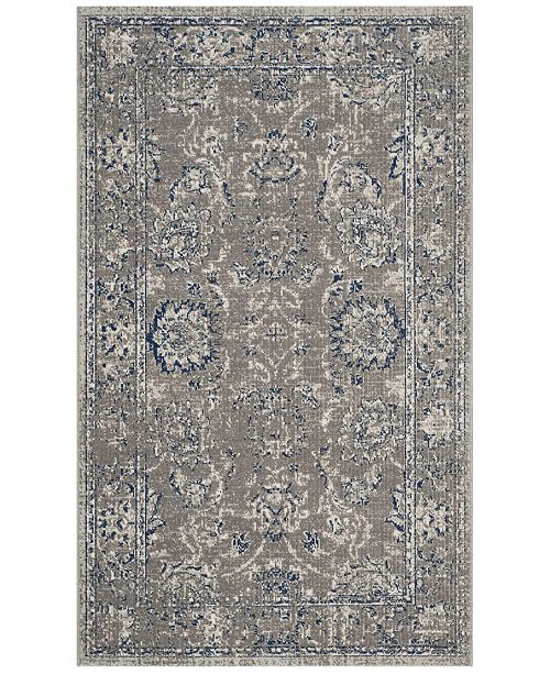 Safavieh Artisan Dark Gray and Blue 3' x 5' Area Rug