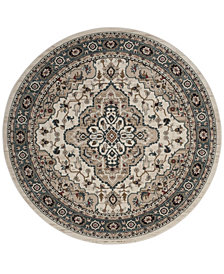 Safavieh Lyndhurst Cream and Beige 7' x 7' Round Area Rug