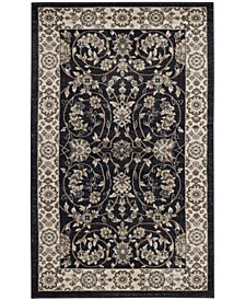 "Lyndhurst Anthracite and Cream 3'3"" x 5'3"" Area Rug"