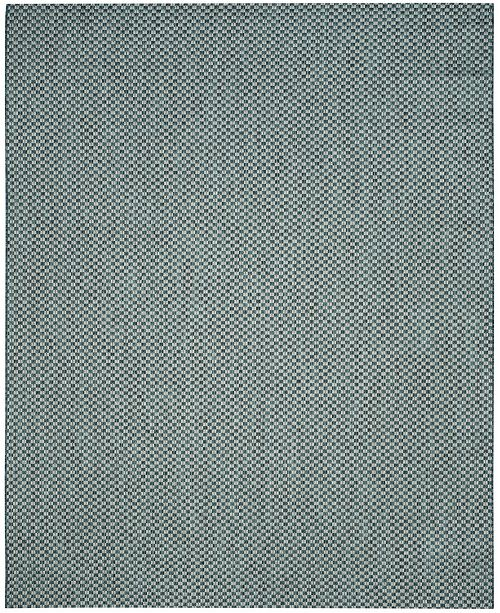 Safavieh Courtyard Turquoise and Light Gray 8' x 11' Sisal Weave Area Rug