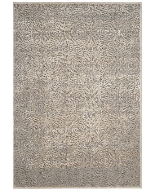 "Safavieh Meadow Ivory and Gray 6'7"" x 9' Area Rug"