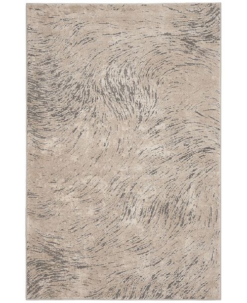 "Safavieh Meadow Ivory and Gray 5'3"" x 7'6"" Area Rug"