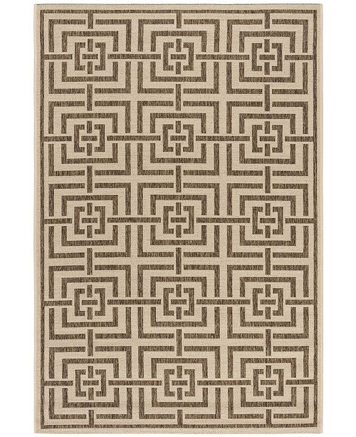 Safavieh Linden Cream and Beige 4' x 6' Area Rug