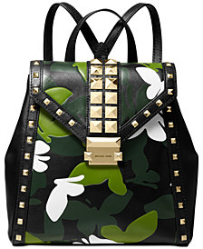 MICHAEL Michael Kors Whitney Camo Butterfly Backpack