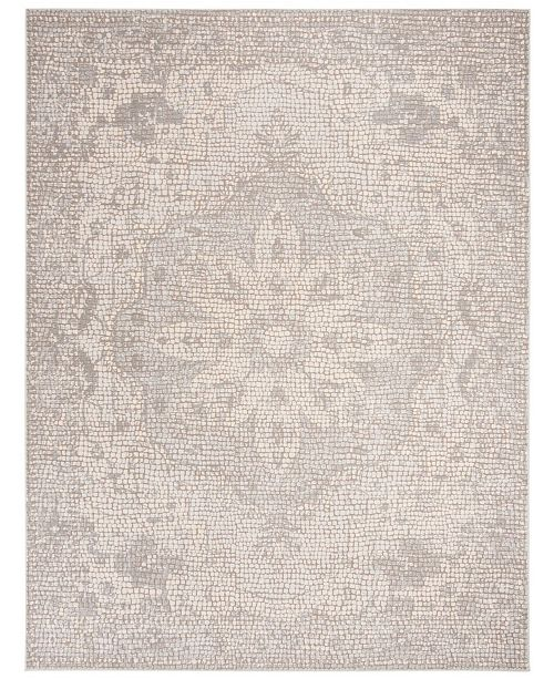 Safavieh Marseille Silver and Ivory 9' x 12' Area Rug
