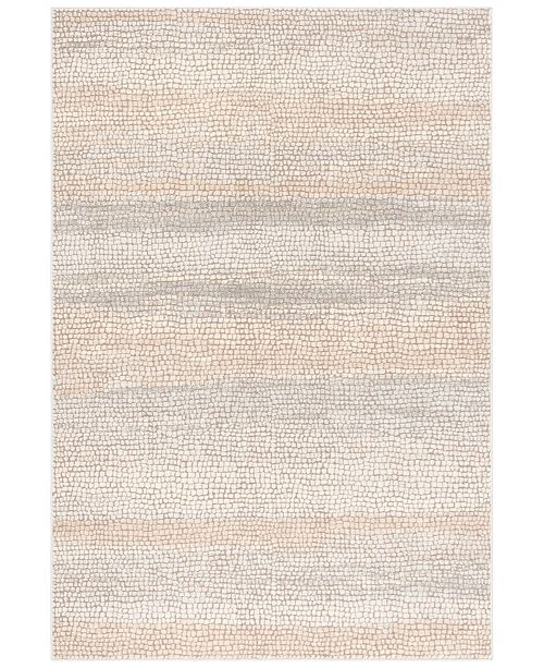 Safavieh Marseille Silver and Ivory 4' x 6' Area Rug