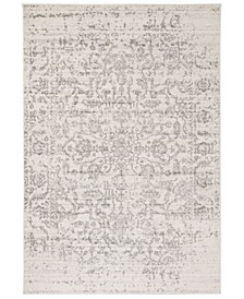 """Madison Silver and Ivory 2'3"""" x 12' Runner Area Rug"""