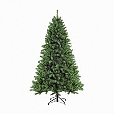 International 7.5 ft. Unlit Noble Fir Artificial Unlit Christmas Tree