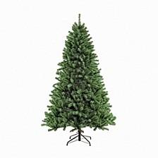 International 7.5 ft. Unlit Noble Fir Artificial Unlit Christmas Tree