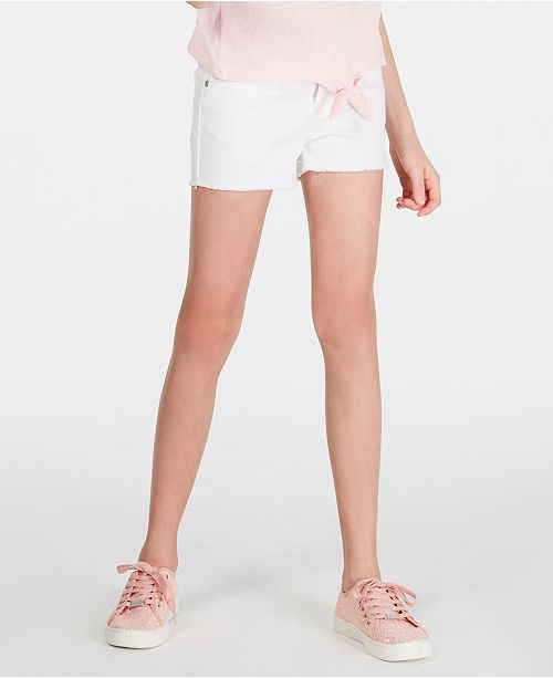 Epic Threads Big Girls White Denim Shorts, Created for Macy's