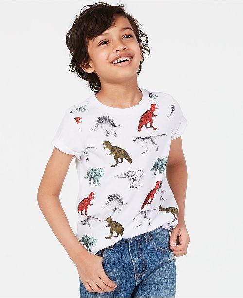 Epic Threads Toddler Boys Dinosaur-Print T-Shirt, Created for Macy's