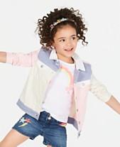 7dc889e812f8 Epic Threads Little Girls Loved Colorblocked Cotton Denim Jacket