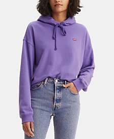 Levi's® Cropped Hooded Sweatshirt