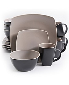 Matte 16 Piece Dinnerware Set