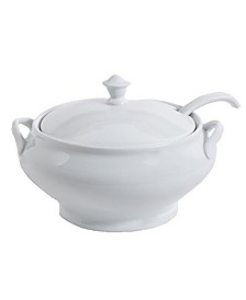 "Gracious Dining 12.75"" Tureen with Ladle"