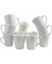 12 Piece 12 Ounce Mug Set
