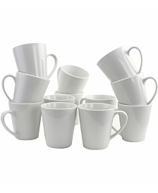 Noble Court 12 Piece 12 Ounce Mug Set