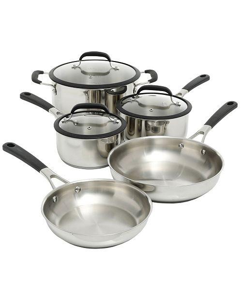 Gibson Oster Cuisine Belton 8 Piece Cookware Set