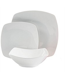 Square 12 Piece Dinnerware Set
