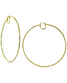 Giani Bernini Thin Wire Double Hoop Earrings, Created for Macy's