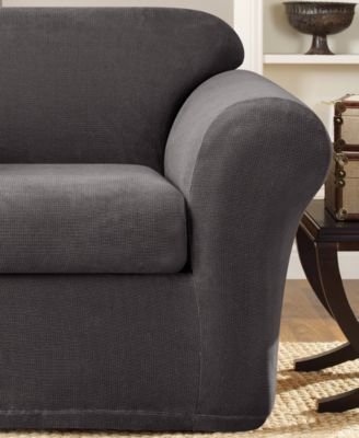 Sure Fit Stretch Metro 2 Piece Chair Slipcover