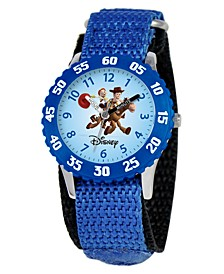 Watch, Kid's Woody and Jessie Time Teacher Blue Strap 31mm W000061