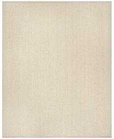 Natural Fiber Light Gray 8' x 10' Sisal Weave Area Rug