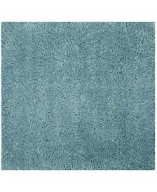 """Safavieh Polar Light Turquoise 6'7"""" x 6'7"""" Square Area Rug"""