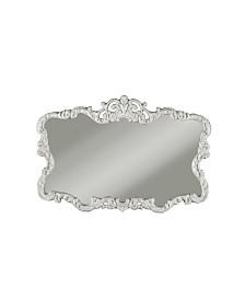 Martin Svensson  Aureate High Gloss White Wall Mirror