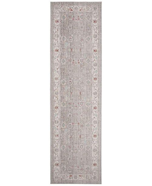 Safavieh Windsor Light Gray and Ivory 3' x 10' Area Rug