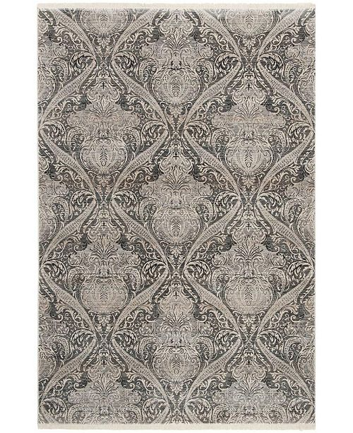 Safavieh Vintage Persian Gray and Charcoal 6' x 9' Area Rug