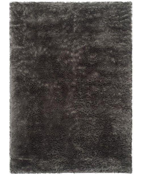 Safavieh Faux Sheep Skin Gray 5' X 7' Area Rug