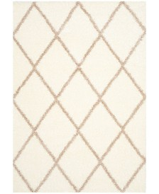 """Safavieh Montreal Ivory and Beige 5'3"""" x 7'6"""" Area Rug"""