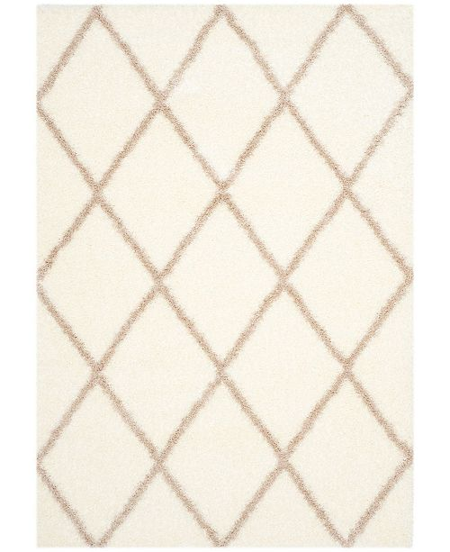"Safavieh Montreal Ivory and Beige 5'3"" x 7'6"" Area Rug"