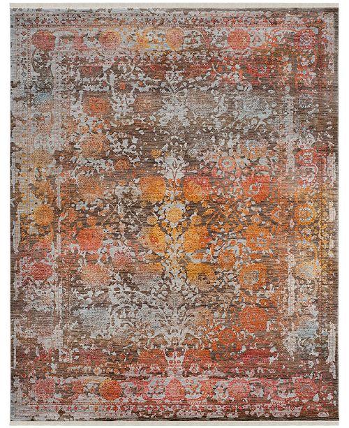 Safavieh Vintage Persian Brown and Multi 8' x 10' Area Rug