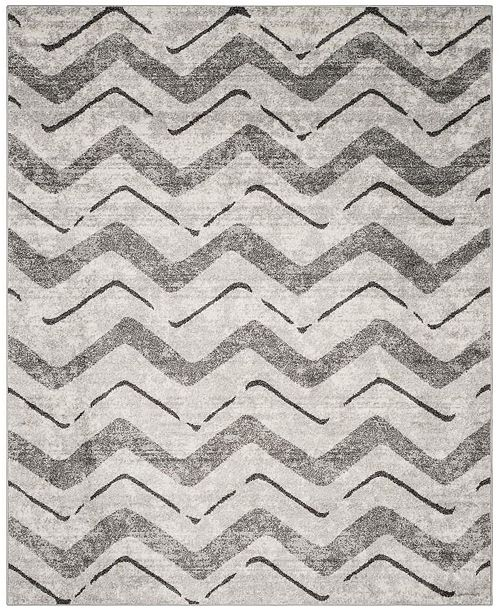 Safavieh Adirondack Silver and Charcoal 8' x 10' Area Rug