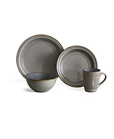 Allure 16 Piece Dinnerware Set