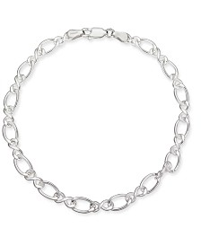 Giani Bernini Fancy Link Chain Bracelet in Sterling Silver, Created for Macy's